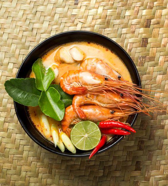 Ταϊλανδέζικη γαριδόσουπα tom yam | olivemagazine.gr | Bloglovin':
