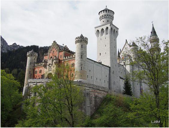 châteaux de Bavière : Neuschwanstein