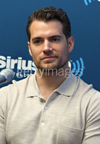 Actor Henry Cavill takes part...