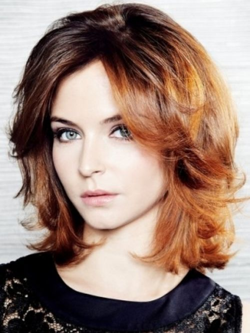 Amazing Hairstyles Haircuts Shoulder Length Haircuts And Bangs Round Short Hairstyles Gunalazisus