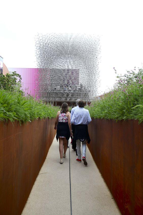 #UK pavilion #expo2015 #Milan #WorldsFair