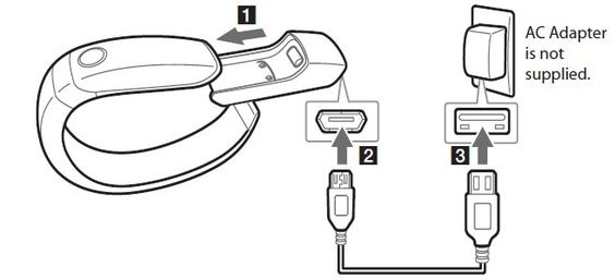 How To Charge Battery - LG Lifeband Touch. #lg #lifebandtouch