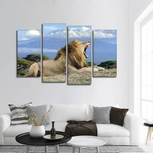 Aurora Mountain Scape Multi Panel Canvas Wall Art Canvas Wall Art Multi Panel Canvas Canvas Artwork