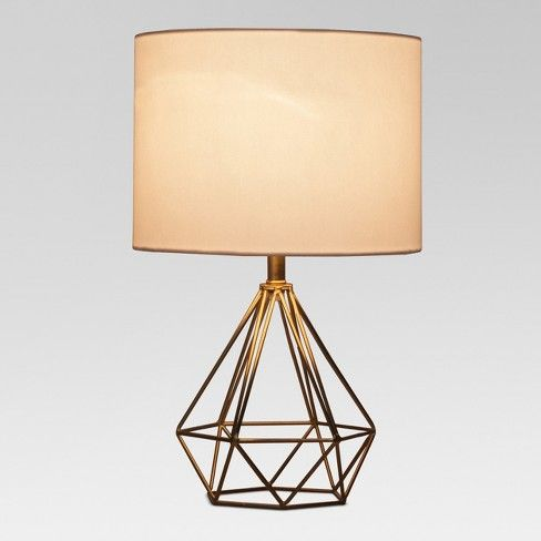 Entenza Wire Geometric Table Lamp Brass Lamp Only Project 62 Target Geometric Table Lamp Lamp Table Lamp