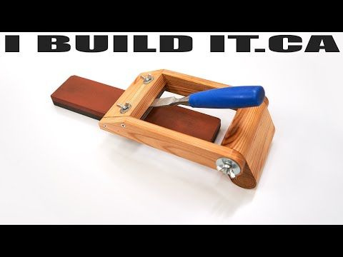 Making A Chisel And Plane Sharpening Jig Woodworking Workshop Youtube In 2020 Woodworking Workshop Woodworking Woodworking Videos
