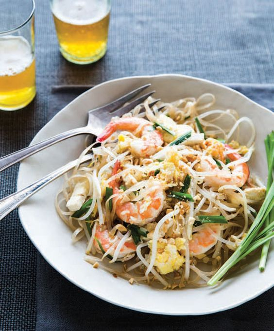 Pad Thai with Shrimp - Now we can make Thai food at home that's better than takeout.