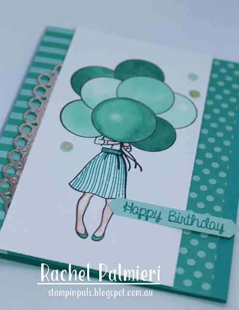 Stampin Pals Hand Delivered Awh Colour Creations Stamped Cards Hand Of Cards Inspirational Cards