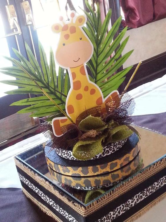 Jungle Safari Baby Shower | CatchMyParty.com: