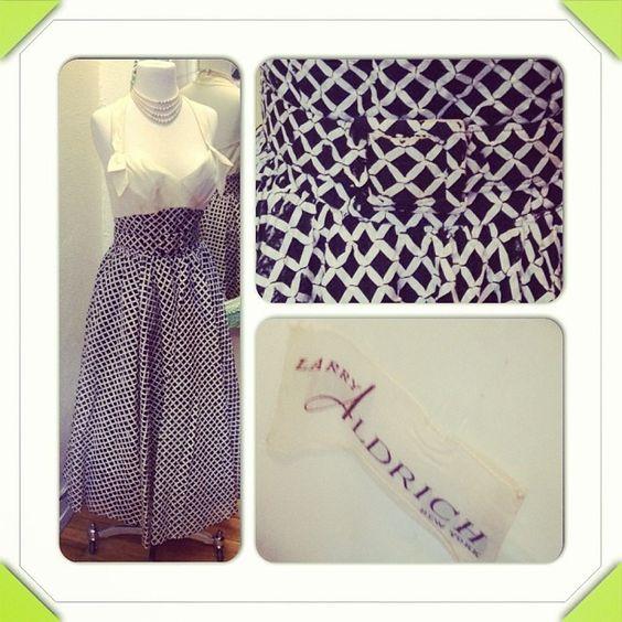 Gorgeous couture Larry Aldrich vintage dress just in @ Night & Day Vintage #denver #couture #fashion #vintage #vintagelifestyle #rockabilly #1950s #designer #dress by Amys Old School, via Flickr