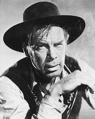 Lee Marvin in Cat Ballou [actually from Liberty Valance)