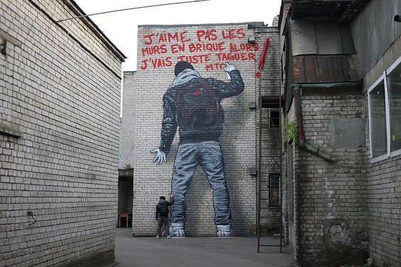 Retratos hiperrealistas: Street art por MTO - Cultura Inquieta