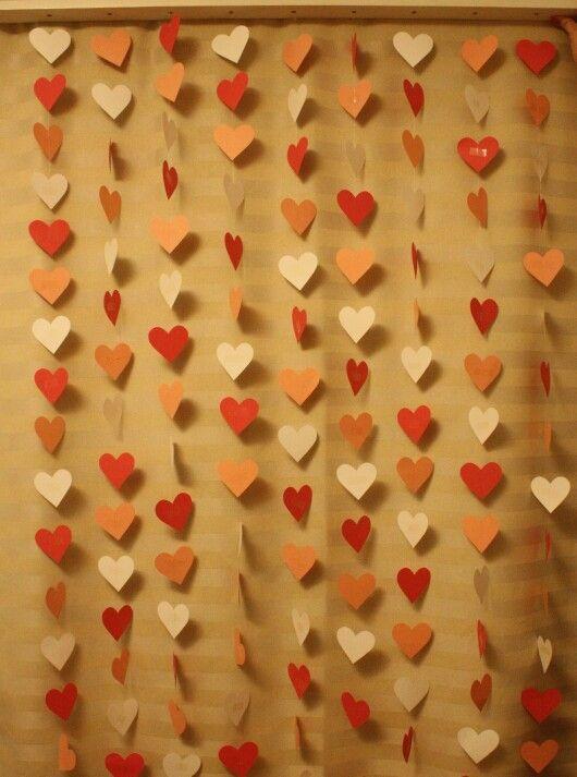 Painel de coração ♡