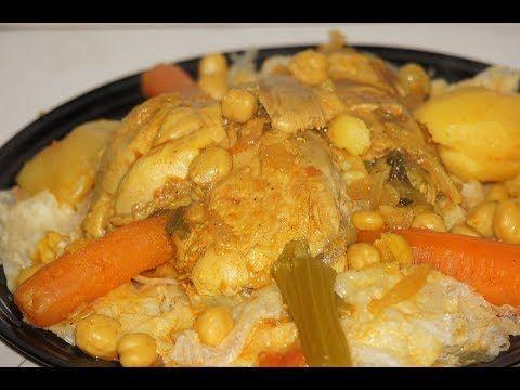 مرقة الرقاق او التريد بطريقة الغرب الجزائري للعواشير Youtube Food Chicken Meat