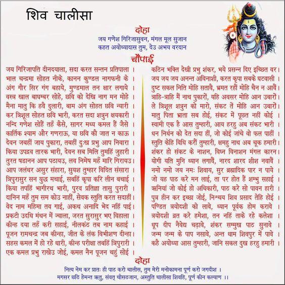 भगवान शिव चालीसा