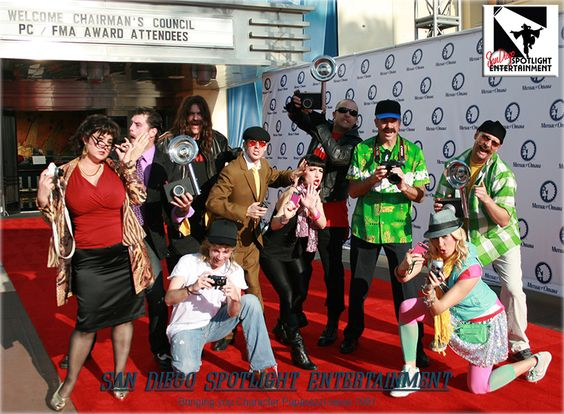 Character Paparazzi by San Diego Spotlight Entertainment.