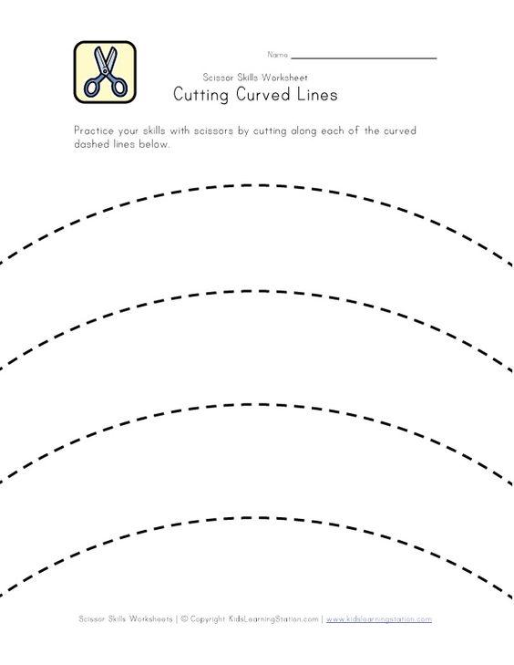 Common Worksheets » Preschool Cutting Printables - Preschool and ...
