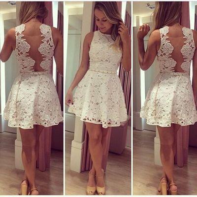 Vestidos 15, Baile, Hermosa, Ropa De Mujer, Vestidos De Regreso A Casa Blancas, Homecoming 2015, Vestidos De Fiesta Cortos, Vestidos De Fiesta 2015,