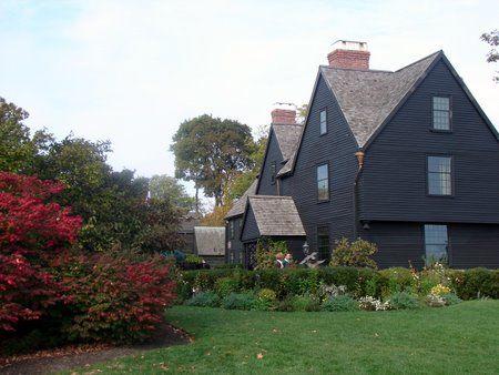 Salem, Massachussetts. Such a pretty little town. So much fun at Halloween