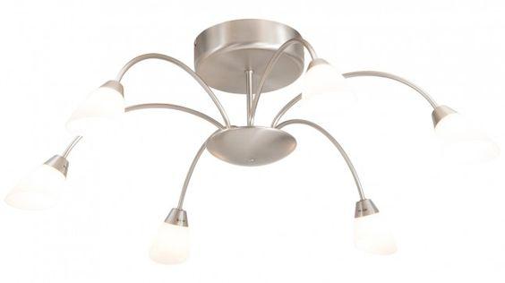 Plafondlamp Elegance 7063ST Steinhauer   Verlichting   Pinterest