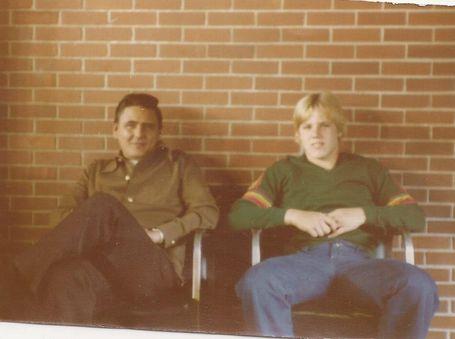 Here's John Studnicka & son Jimmy, Sept. 24, 1978