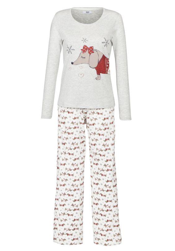 Women S Dog Print Pajamas