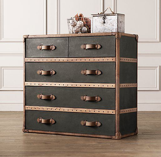 Leather Dressers And Chest Of Drawers ~ Cool looking collection dressers side tables even a
