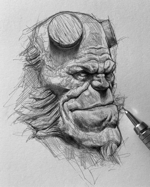 Pencil Sketch Artist Efrain Malo In 2020 Pencil Sketch Art