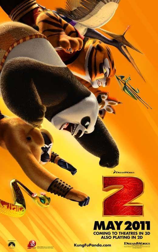 Kung Fu Panda 2 27x40 Movie Poster 2011 Kung Fu Panda Panda Movies Kung Fu