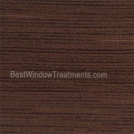 Tandora Solid Curtain Panels in Espresso chocolate brown color ...