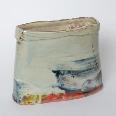 Barry Stedman - Squared Blue and Yellow Cylinder
