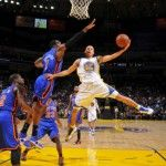 Despite continuing to battle a chronic ankle injury, elite Golden State Warriors shooting guard Stephen Curry netted a career-high 54 points on 18-of-28 shooting from the field in a 109-105 loss to the New York Knicks on Wednesday night at Madison Square Garden.     The 24-year-old Curry, who the Warriors (33-25) took out of Davidson College with the seventh pick in the 2009 NBA Draft, nailed 11 of 13 attempts from behind the arc and also amassed six rebounds, seven assists and three steals.