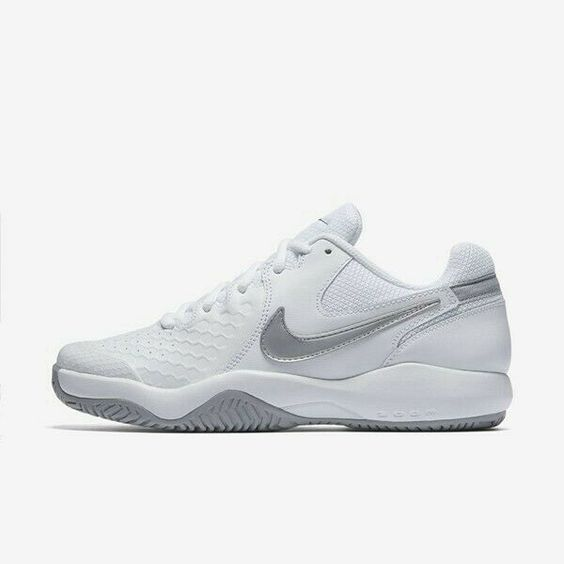 Nike 918201 101 Court Air Zoom Resistance Women Running Shoes Sneakers White Nike Airs T Womens Tennis Court Shoes Womens Tennis Shoes Tennis Shoes Outfit