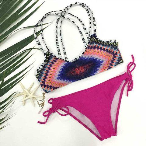 Cupshe Love Sunshine Bikini Sets