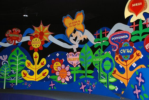 Its a Small World - Adios | Magic Kingdom, Orlando, via Flickr.