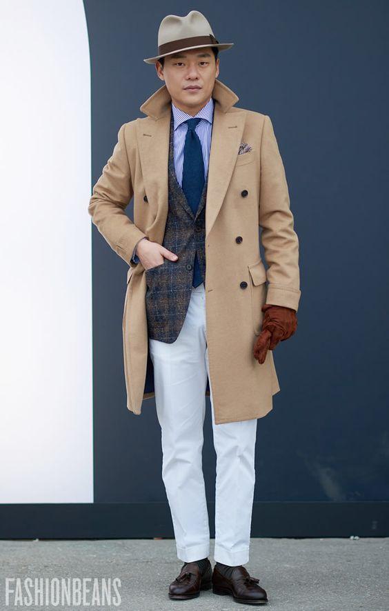 羽織るだけ!30代メンズはツイードジャケットで秋冬コーデを ...