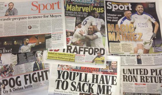 Transfer rumours and Sunday newspaper gossip: Man United,...: Transfer rumours and Sunday newspaper gossip: Man United,… #ManCity