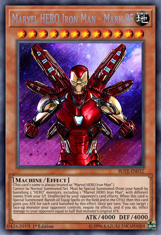 Marvel HERO Iron Man - Mark 85 by ChaosTrevor on DeviantArt