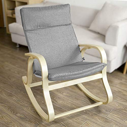 New Haotian Fst15 Dg Comfortable Relax Rocking Chair Lounge Chair Relax Chair Cotton Fabric Cushion Online Shopping Relaxing Chair Rocking Chair Upholstered Rocking Chairs