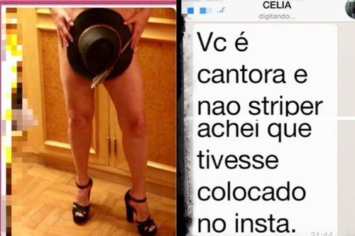 Roberta Miranda publica foto nua e é chamada de stripper | Notas Celebridades - Yahoo Celebridades Brasil