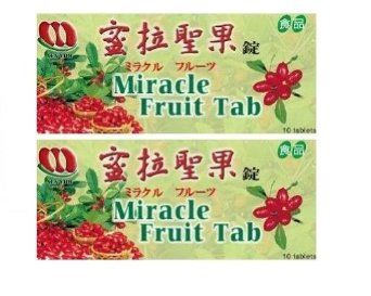Miracle Berry Fruit Tablets-10 each (Pack of 2): **Acid for the taste buds!!**