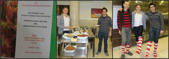 Des membres de Rotaract Club of Metro Montréal ont préparé des repas pour des familles de la maison Ronald McDonald. Les familles ont apprécié et ont été vraiment touchées.
