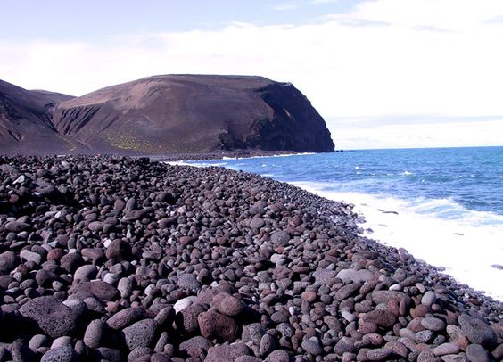 iceland island surtsey  I bet you can hear yourself think here.