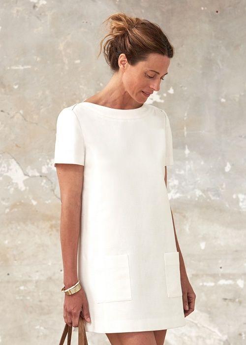 robe blanche h et m 2018 les meilleures robes de france. Black Bedroom Furniture Sets. Home Design Ideas