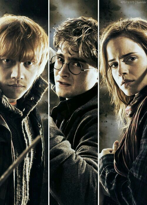 Deathly Hallows | Actually the Ron Weasley Story ...
