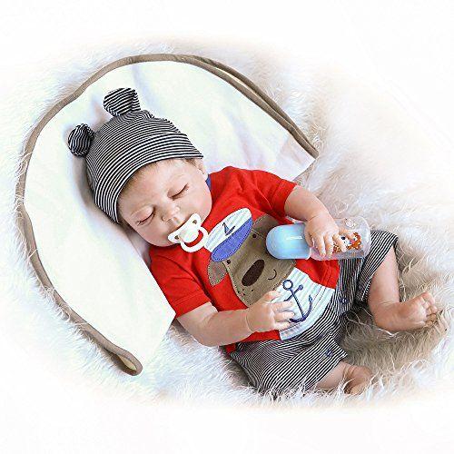 Reborn Baby Doll 100 Handmade Full Soft Silicone 22 5 Https Www Amazon Com Dp B07b46pkqf Reborn Baby Boy Silicone Reborn Babies Reborn Baby Boy Dolls