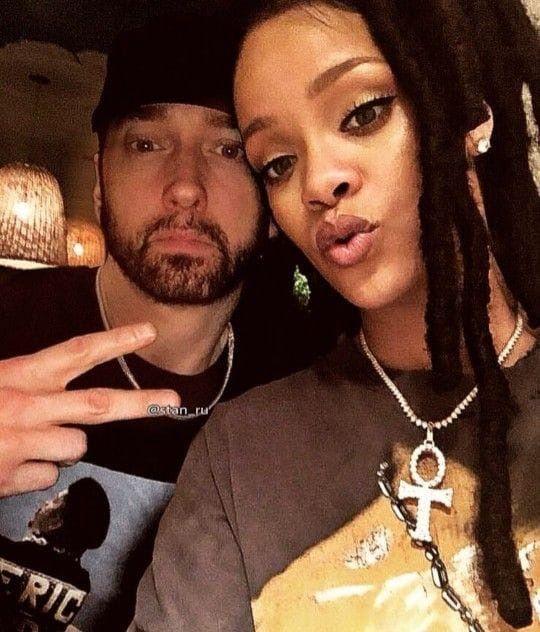 Eminem And Rihanna Eminem Eminem Rihanna Eminem Rap