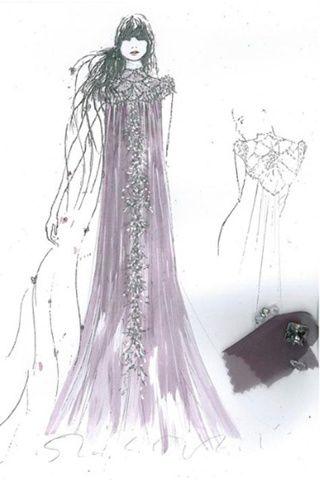 Los vestidos de las princesas Disney a subasta Rapunzel by Jenny Packham