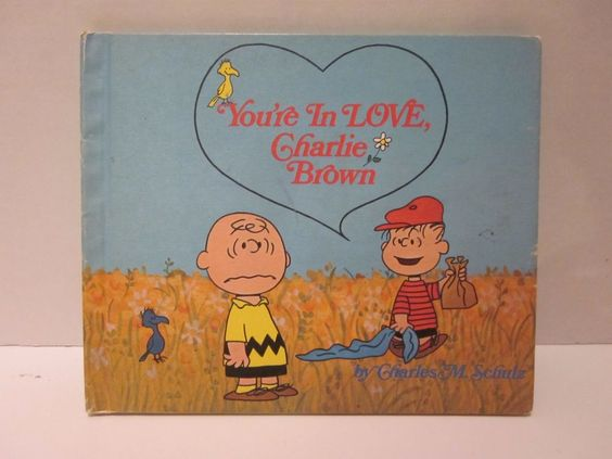 You're In Love Charlie Brown Book First Edition 1968 Charles M. Schulz Linus