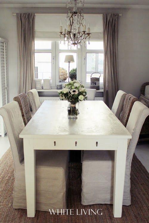 White living birthday flowers  new dining table haus Pinterest