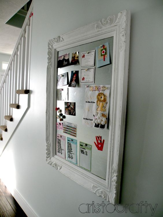 Aristocrafty Diy Decorative Magnet Board Crafty Diy Pinterest Beautiful Magnets And